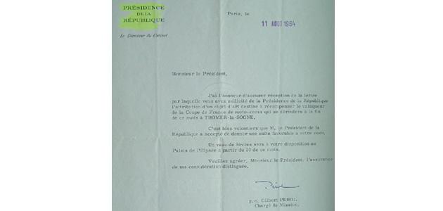 Le Général de Gaulle aimait le motocross