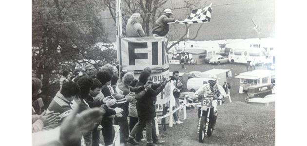 La premiere victoire de manche de Jorgen Nilsson