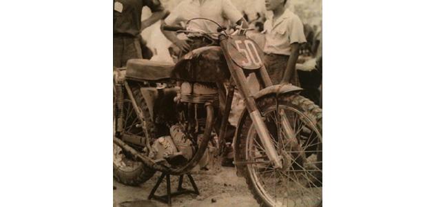 Mazoyer, une moto de cross française