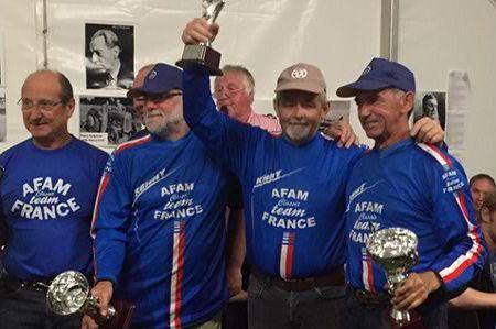 4 bleus pour un titre européen !