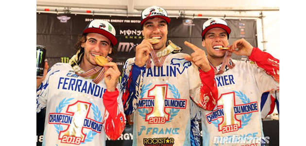 Changer un moteur en un temps record au Motocross des Nations, on l'a fait !