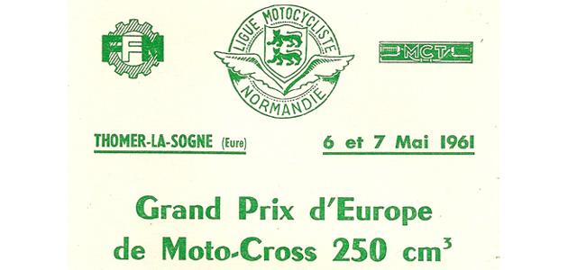 Grand Prix France 1961 250cc 1/2