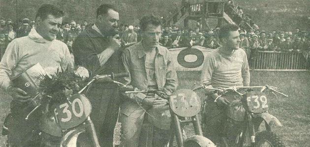 Les championnats de France 1957 - 500cc (1/4)