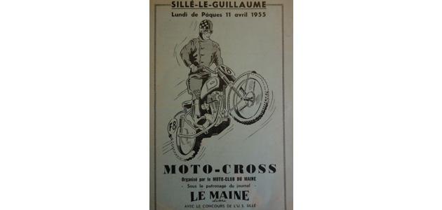 Programme Sillé le Guillaume 1955