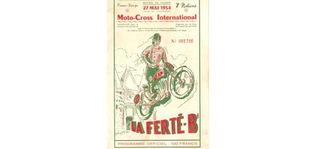 Programme La Ferté Bernard 1954