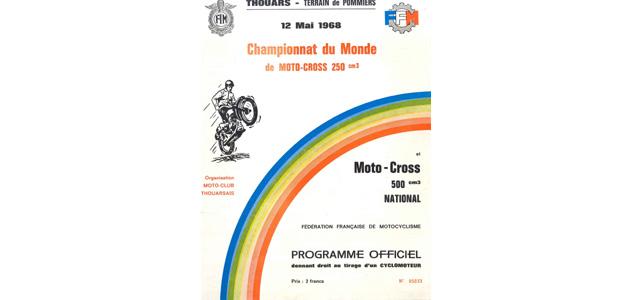 Programme GP France 1968  250cc